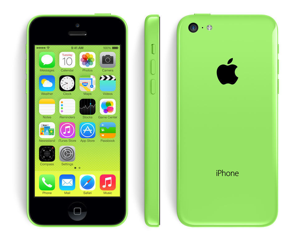 iPhone 5C - 16 Go - Vert - Reconditionné