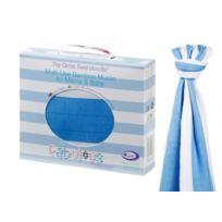 Cuski - Maxi-lange En Mousseline De Bambou Bio - Great Swandoodles - Bellissimo Blue
