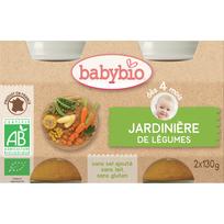 Babybio - Pots Jardinière de légumes dès 4 mois