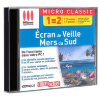 Micro Application - Écran de veille, mers du sud