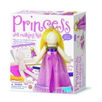 4M - Dam 5602746 - Loisir CrÉATIF - Broderie - Crea Doll Making Kit - Creez Une PoupÉE Princesse