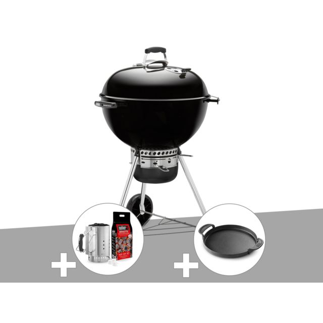 Weber Barbecue Master Touch Gbs 57 Cm Noir Kit Cheminee