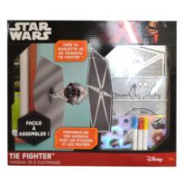 Lansay - Vaisseau Star Wars 3D à customiser : Tie Fighter