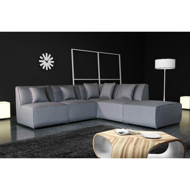Rocambolesk Canapé Tobi uni 11A1P – savana vert 08 sofa divan