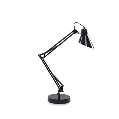 Boutica-design Lampe à poser Sally Noir 1x42W - Ideal Lux - 061160