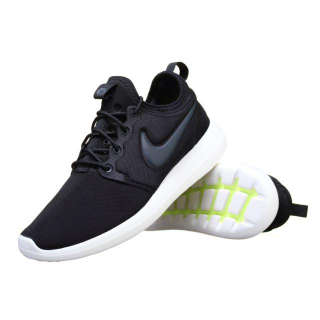 Nike Basket Roshe Two 844656 003 Noir pas cher Achat