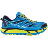 Hoka One One - Mafate Speed 2 Bleue Et Jaune Chaussures de trail