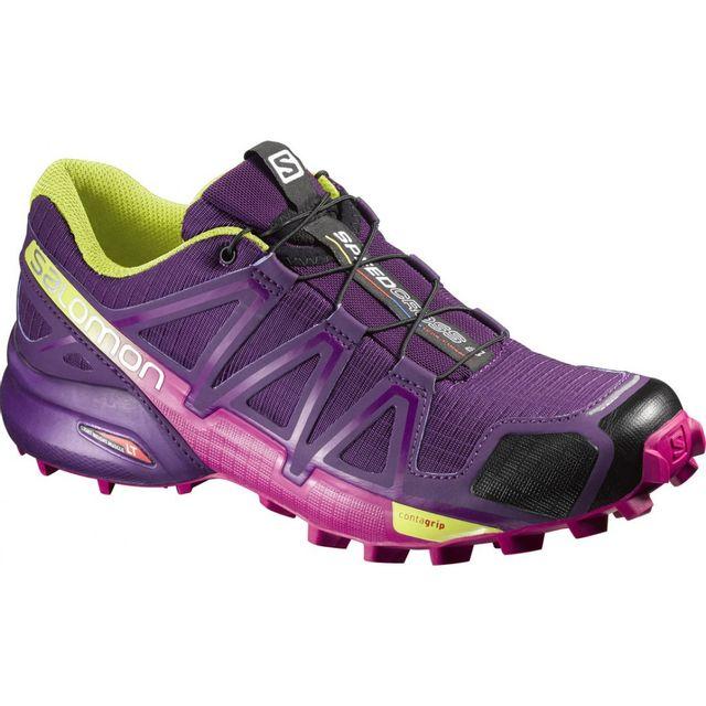 Salomon Speedcross 4 Violette Chaussures trail femme pas