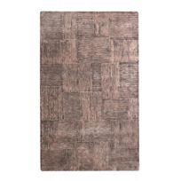 415de1d85ccd Deladeco - Tapis viscose et laine ethnique sable Rush - pas cher ...