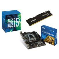 RUE DU COMMERCE - Kit EVO INTEL Office V - INTEL Core i5-6400 - MSI B150M PRO-VDH - 8 Go DDR4 KINGSTON