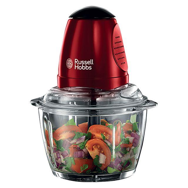 RUSSELL HOBBS mini hachoir 500ml 350w rouge - 20320-56