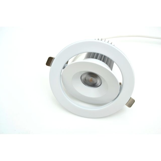 Garnati Spot Led Encastrable Orientable Dimmable 13 Watts Blanc Froid