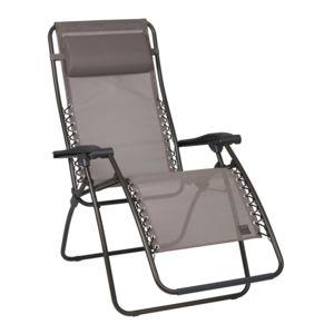 lafuma chaise longue relax multiposition pliante en acier et toile batyline rsxa pas cher. Black Bedroom Furniture Sets. Home Design Ideas