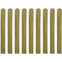 Rocambolesk - Superbe latte imprégné de barrière en bois 10 pcs 100 cm neuf