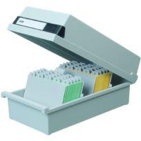 Han - 965-11 Boîte à fiches pour env. 800 fiches A5 orientation paysage 235 x 190 x 250 mm Gris clair Import Allemagne