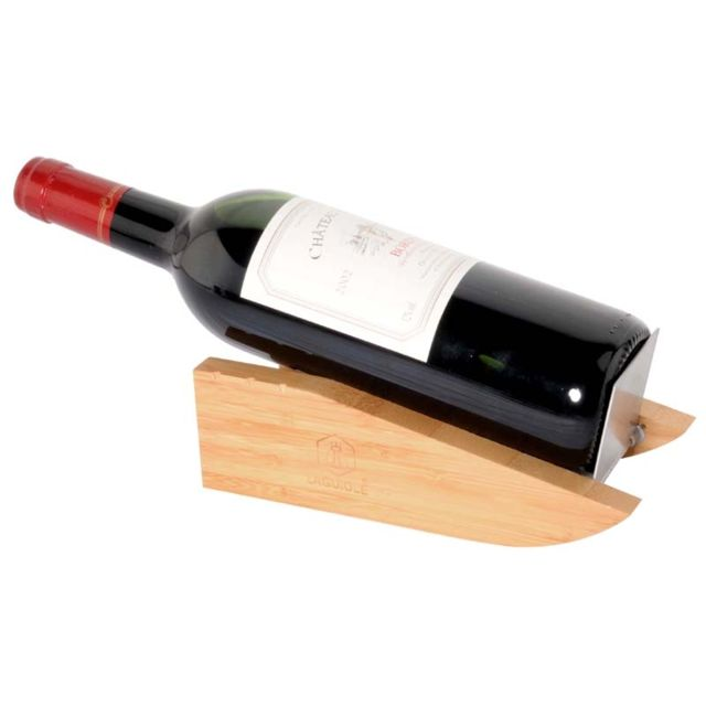 Laguiole Coffret support bouteille avec sommelier