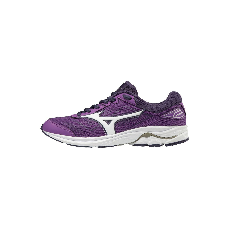 Mizuno - Chaussures junior femme Wave Rider 22 violet/blanc - pas cher Achat / Vente Chaussures running