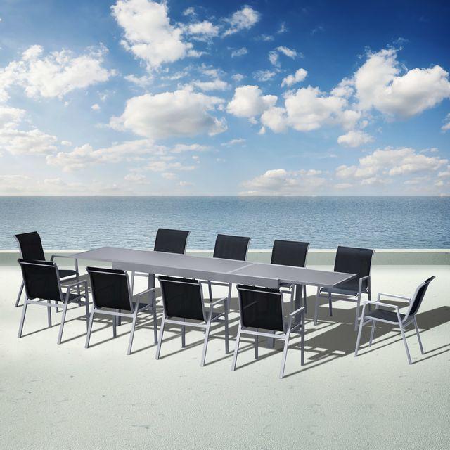 Sunrise salon de jardin aluminium atlantique pas cher achat vente ensembles tables et - Salon de jardin 10 personnes aluminium ...
