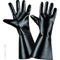 Widmann S.R.L. - Gants noir en simili cuir pour adultes