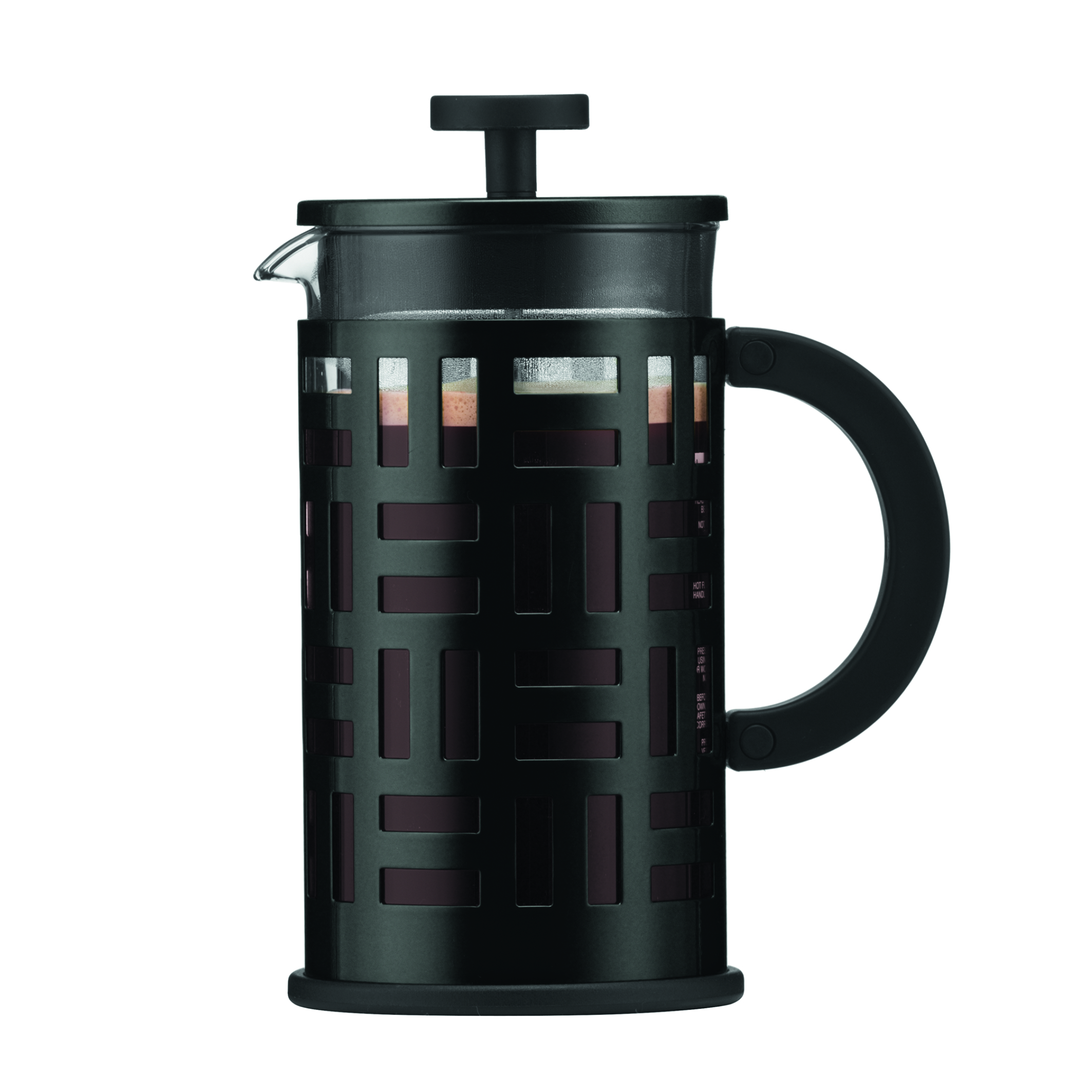 Bodum eileen cafeti re piston 8 tasses 1 0 l noir - Cafetiere a piston avis ...