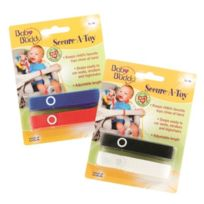 Baby Buddy - Secure-a-toy Straps 4CT For 6-36 Months MULTICOLOURED