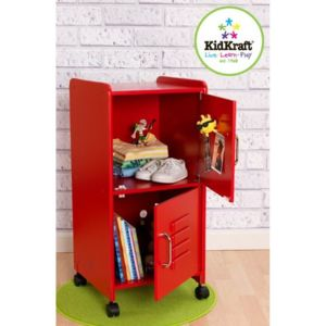 kidkraft armoire pour chambre enfant taille moyenne rouge pas cher achat vente maisons de. Black Bedroom Furniture Sets. Home Design Ideas