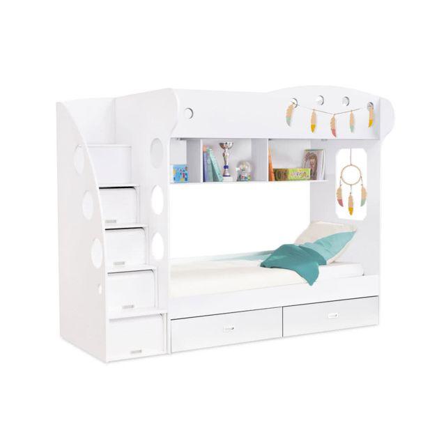 lit superposé avec rangement