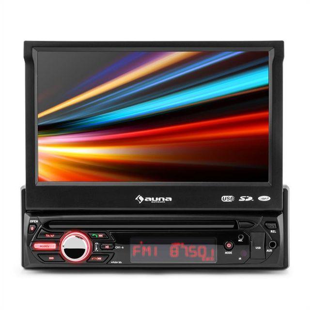 AUNA MVD-310 Autoradio Bluetooth écran tactile 17,8 cm 7