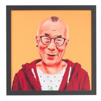 Fisura - Tableau Dalaï Lama - 56 cm Amit Shimoni