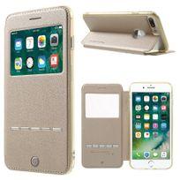 G-case - Etui Gcase Sense-View Folio iPhone 7-Plus coloris gold