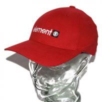 Ecko - Casquette flexfit Element Logo classique rouge