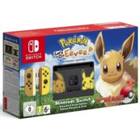 NINTENDO - Console Switch + Pokémon : Lets Go, Évoli ! Préinstallé + Poké Ball Plus