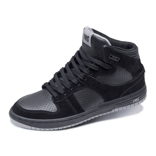 Famous Basket montante collector Amp High Black Black