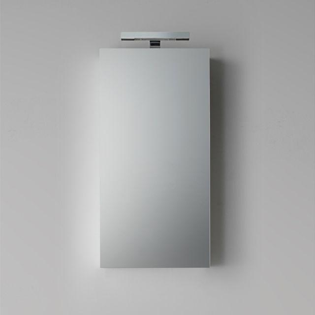 Miroir Salle De Bain Conteneur 45X90 Cm En Noix