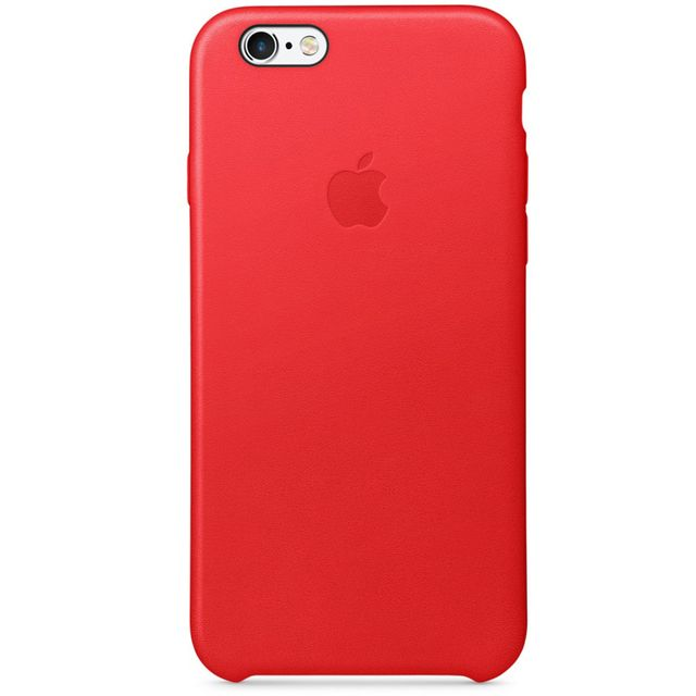 APPLE iPhone 6s Leather Case - PRODUCT RED - MKXX2ZM/A