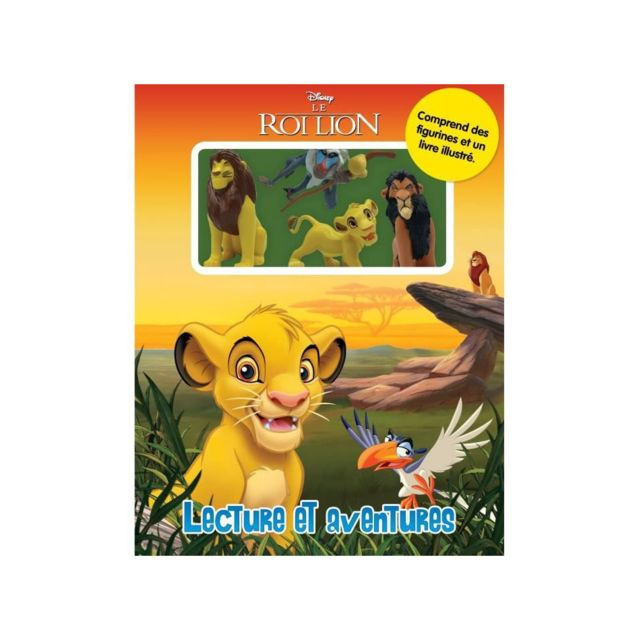 Disney Roi Lion Lecture Et Aventures