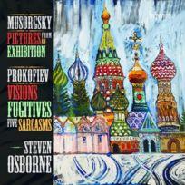 Hyperion - Steven Osborne Joue Moussorgski Et Prokoviev - Cd