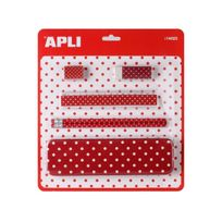 Apli Agipa - Set Ecolier Rouge Dotty