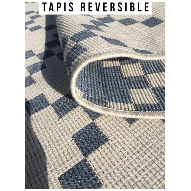 UN AMOUR DE TAPIS - Tapis d'entrée ou de chambre BC REVERSIBLE GEA Tapis Moderne Unamourd