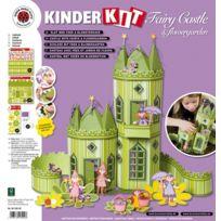 Karen Marie Klip - Maquette papier Château de fées avec jardin