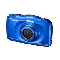 NIKON - appareil photo compact - coolpix w100 bleu