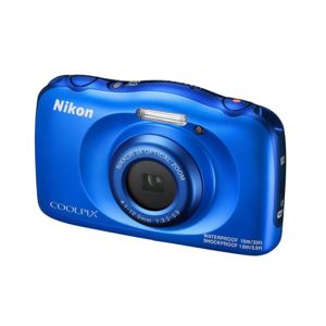NIKON - appareil photo compact - coolpix w100 bleu