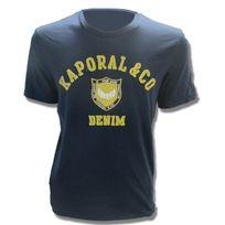 Kaporal 5 - Ponio Navy Bleu - XXL - pas cher Achat   Vente Tee shirt ... e936bcec95bf