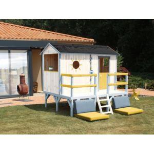 Soulet maisonnette bois elina pas cher achat vente for Destockage soulet