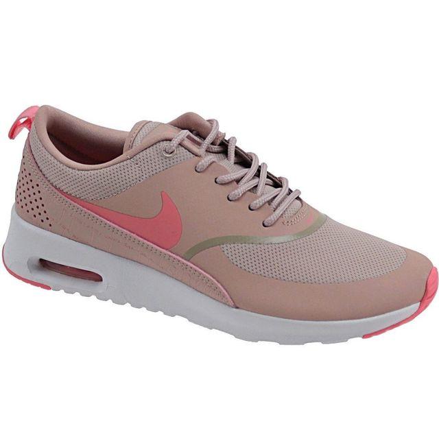 Nike Wmns Air Max Thea 599409 610 Femme Baskets Rose pas