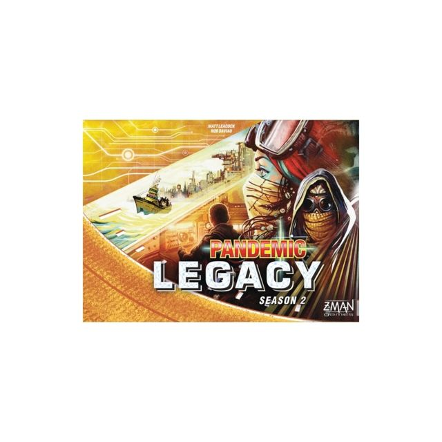 Pandemic Legacy - Saison 2 - Jaune - Jeu de société