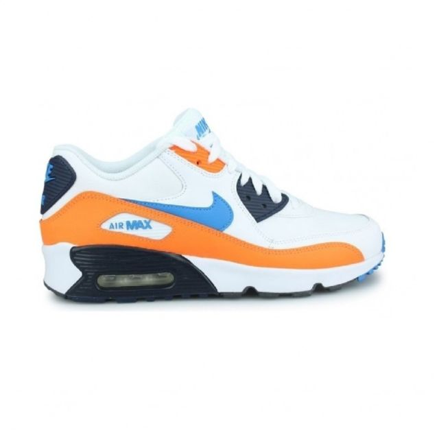 Nike Basket mode Air Max 90 Leather GS, 833412116 pas