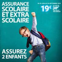 CARREFOUR - Assurance scolaire et extra-scolaire 2 enfants