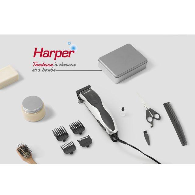 Harper - Tondeuse à Cheveux Et à Barbe 2en1
