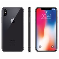 APPLE - iPhone X - 64 Go - MQAC2ZD/A - Gris Sideral